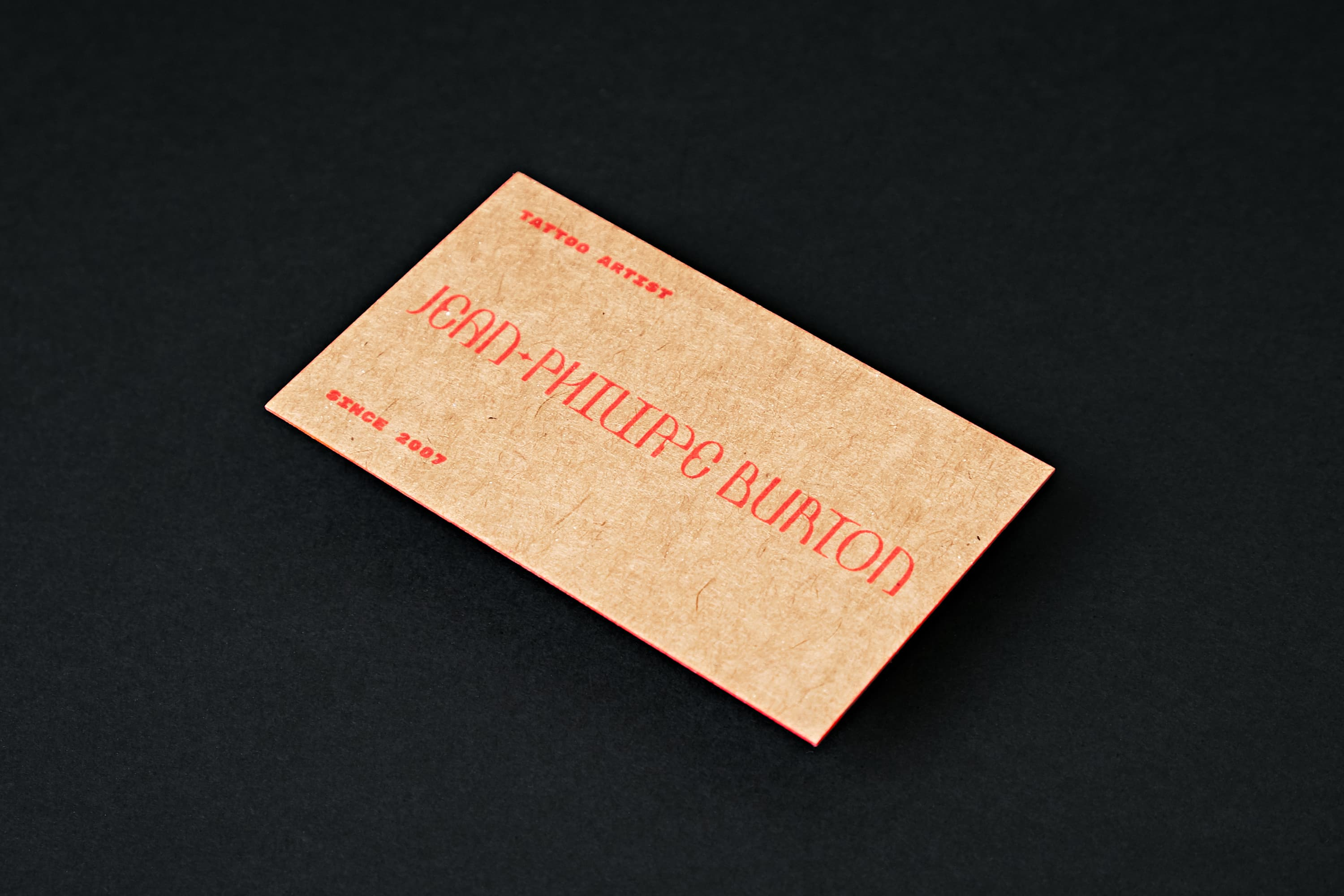 A tattoo artist identity for Burtonursaeminoris