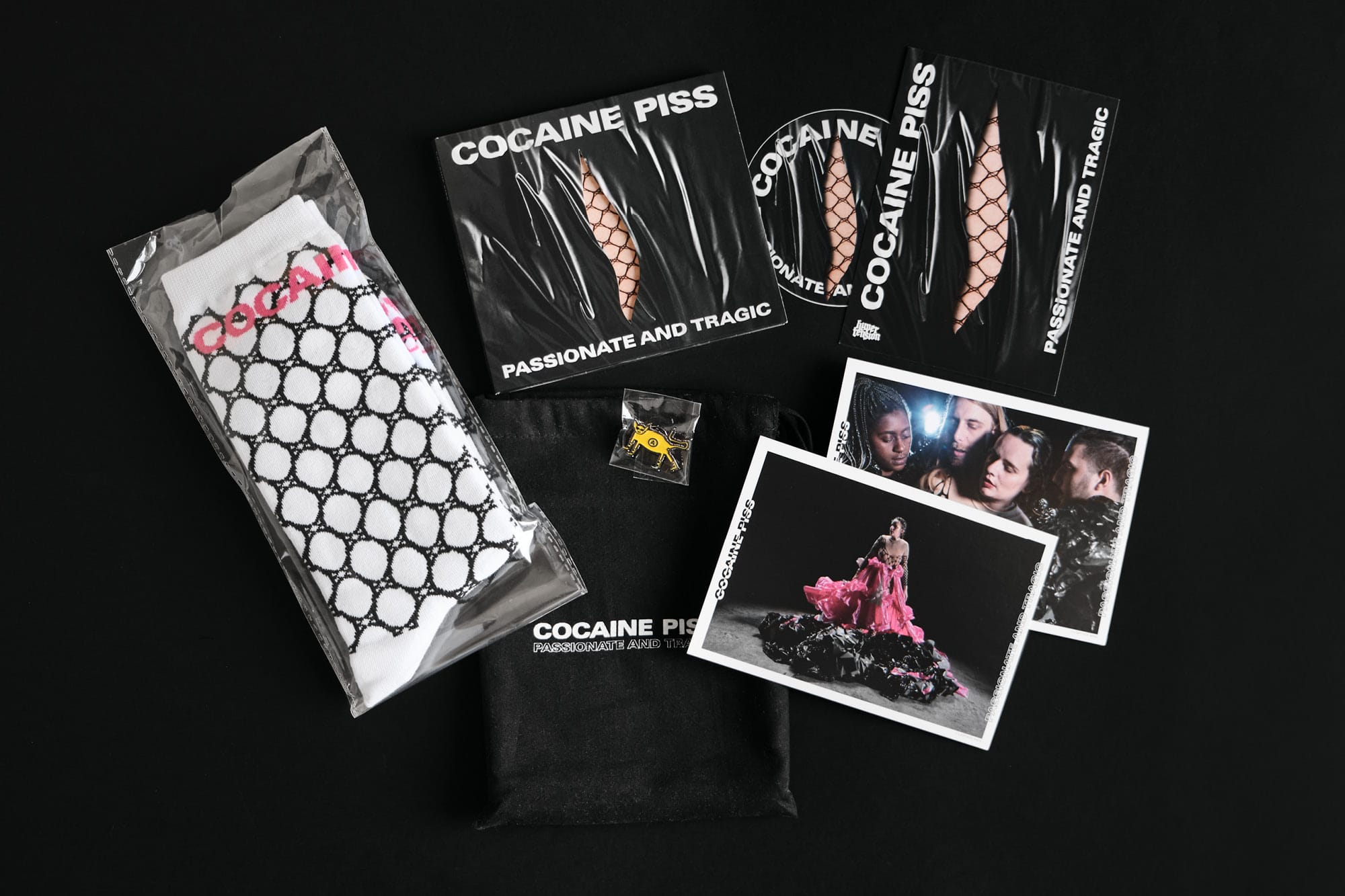 cocaine piss-PAT-bag content
