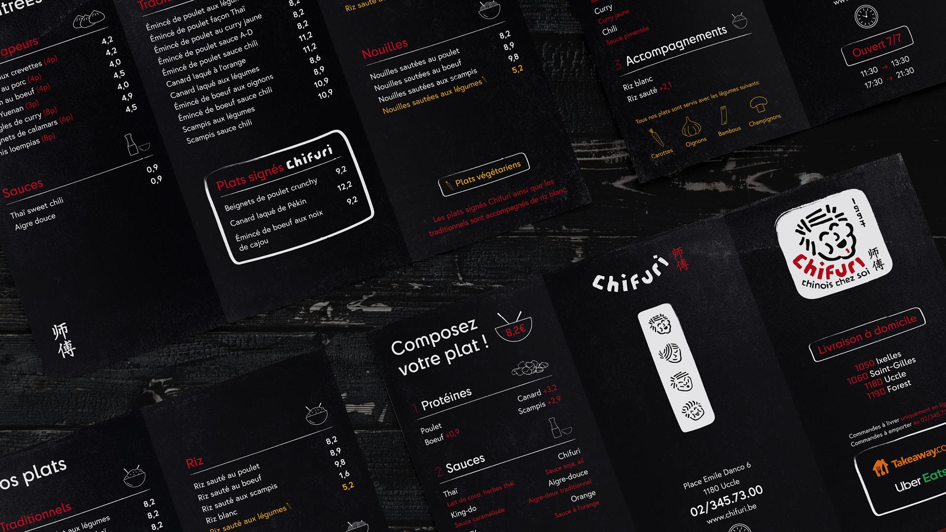 CHIFURI-menus