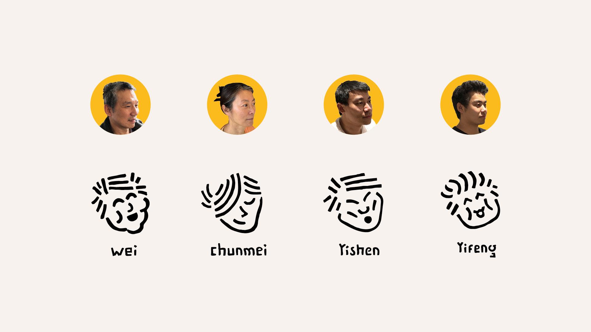 CHIFURI-portraits